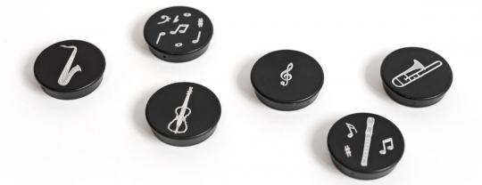Magnet Instrumentenmotiv