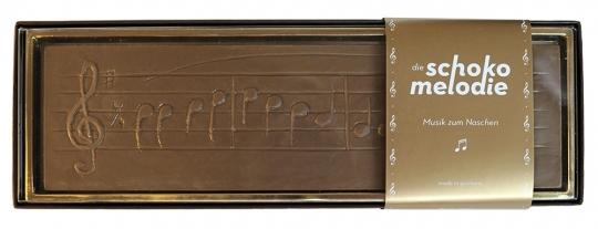 Schokolade mit Musik Zartbitter