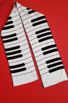 Schal Klavier 125 cm