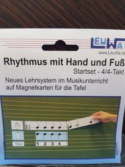 Magnetkarten Rhythmus 4/4