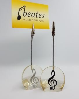 Memoclip Violinschlüssel