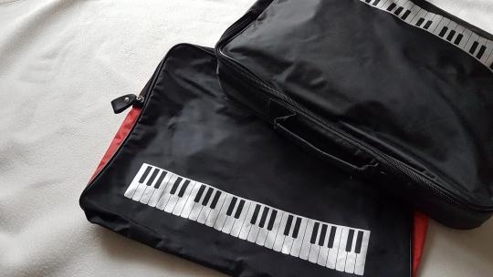 Tasche Musikunterricht Keyboard
