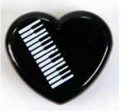 Radierer Keyboard Herzdose